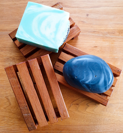 Recycled Rimu Soap Rack