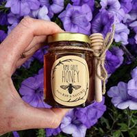 Rimu Gully Raw Honey - Mini jar with dipper